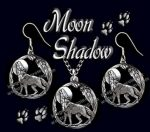 Moon Shadow Necklace and Earring Set