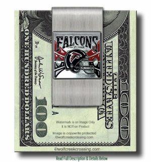 Atlanta Falcons Money Clip