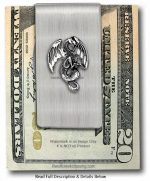 Medieval Dragon Money Clip
