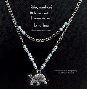 Turquoise Turtle Time Necklace