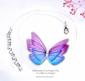 Two Butterfly Necklaces