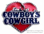 Cowgirl Pin