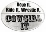Cowgirl It Decal