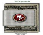 49ers Money Clip
