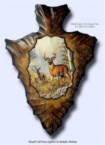 deer arrowhead art