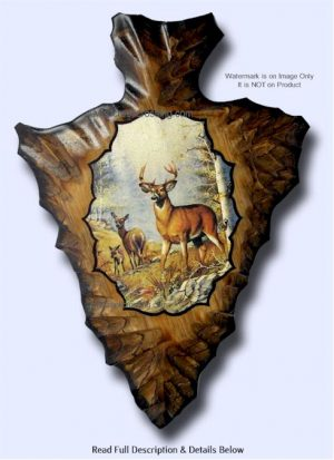 deer arrowhead art