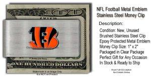 Bengals Money Clip