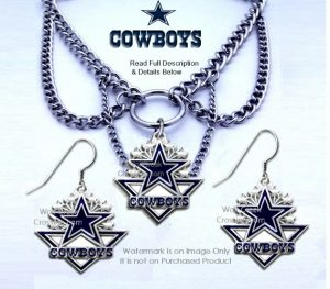 dallas cowboys choker set