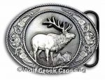 Elk Buckle