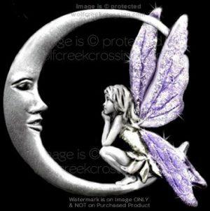 Fairy Moon Pin