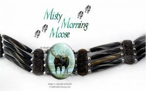 moose choker necklace