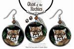 mountain lion jewelry set
