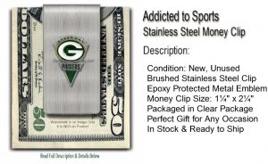 Packers Money Clip