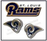 Saint Louis Rams Earrings