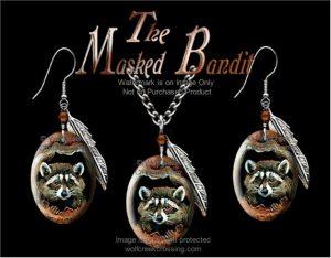 Raccoon Jewelry Set