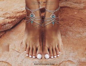 Summer Turquoise Anklets