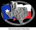 Texas Flag Buckle