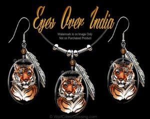 Tiger Jewelry Set