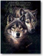 Timber Mates Wolf Art