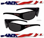 USA Strap & Firefighter Sunglasses