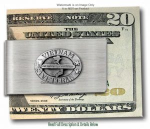 Vietnam Veteran Money Clip