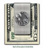 Wolf Moon Shadow Money Clip