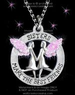 Sisters Pink Necklace