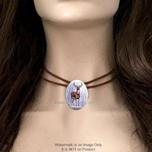 Deer Choker Necklace