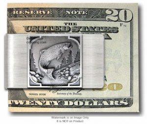 Sportsman Fish Money Clip