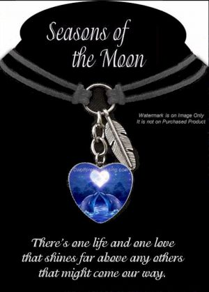 Seasons of the Moon Necklace