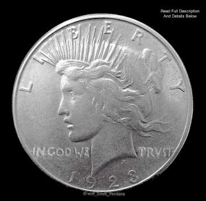 Peace Liberty Coin 1