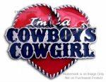 Cowgirl Pin