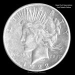 Peace Liberty Silver Dollar