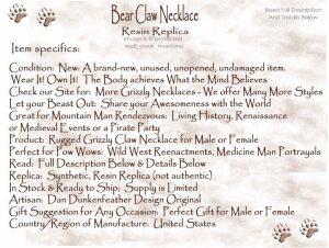 Griz Necklace Description2