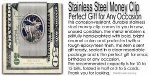 Elk Money Clip