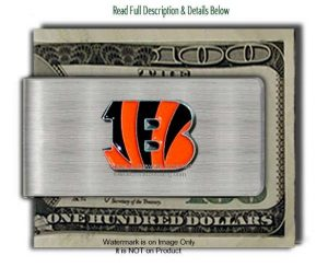 Bengals Money Clip