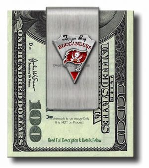 Tampa Bay Buccaneers Money Clip