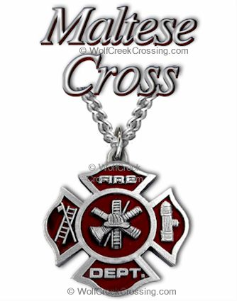Fire Fighter Necklace Fireman