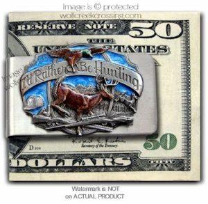 Deer Money Clip