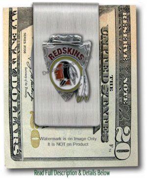 Washington Redskins Money Clip