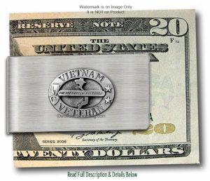 Vietnam Veteran Money Clip