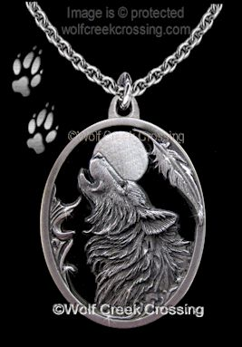 Wolf Moon Song Necklace