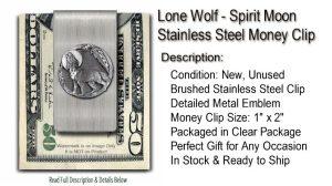 Moon Shadow Money Clip
